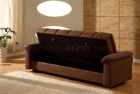 mocha microfiber sofa premium mocha microfiber three seater sleeper sofa