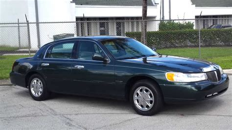 for sale 1999 lincoln town car signature series touring sedan youtube