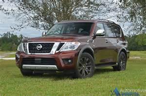 2017 nissan armada platinum awd review test drive