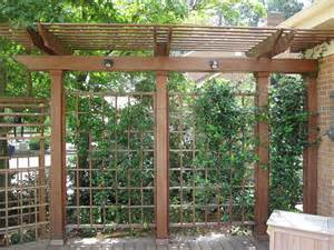 Pictures Of Pergolas On Decks by Arbors And Trellises Metro Wood Works
