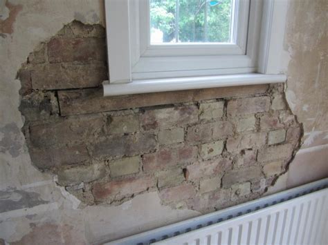 render a wall diy render brick and wood on interior wall diynot forums