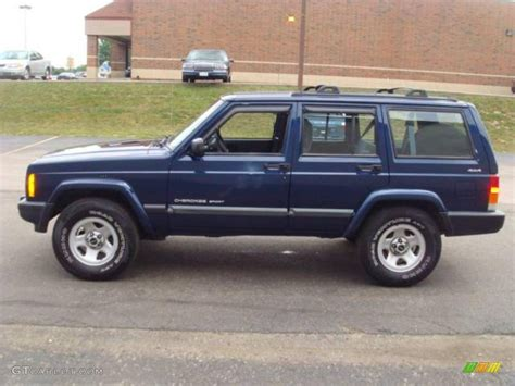 jeep cherokee blue jeep cherokee review and photos