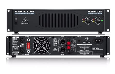 Power Lifier Behringer Ep4000 power lificador behringer ep4000 power 4000 watts d