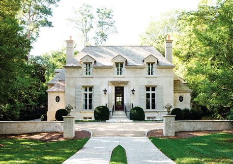 french style house french chateau french home exterior atlanta homes