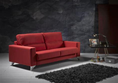 sofa live sof 225 modelo live en tela color rojo sidivani