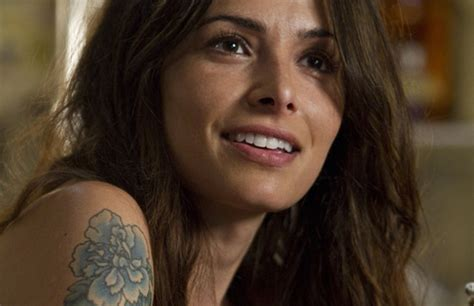 sarah shahi tattoos bullet to the could motivate you to do same