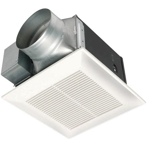 150 cfm exhaust fan panasonic whisperceiling 150 cfm ceiling exhaust bath fan