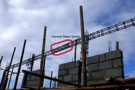 3 Storey House by Our Philippine House Project Rebar Splicing My