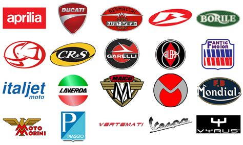 Italienische Motorrad Marken italian motorcycles motorcycle brands logo specs history