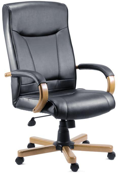 kingston light wood executive chair
