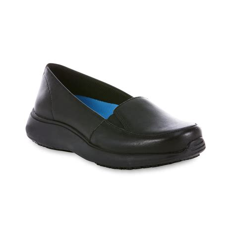 dr scholl s s lauri leather slip resistant work