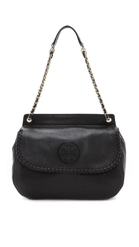 Burch Saddle Tote Bag burch marion saddle bag royal in black lyst