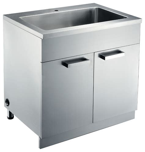 stainless steel sink base cabinets kitchen cabinetry - Kitchen Sink Base