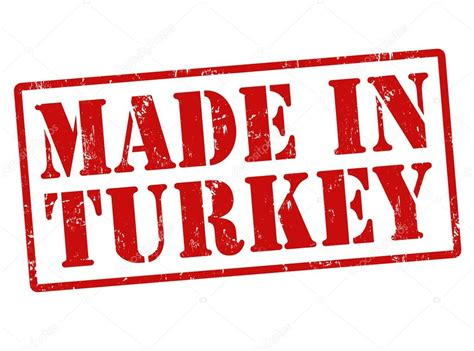 Made In by Made In Turkey St Stock Vector 169 Roxanabalint 32354209