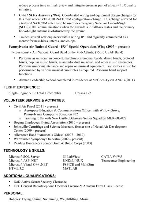 cv in exles for usa 100 to civilian resume exles custom
