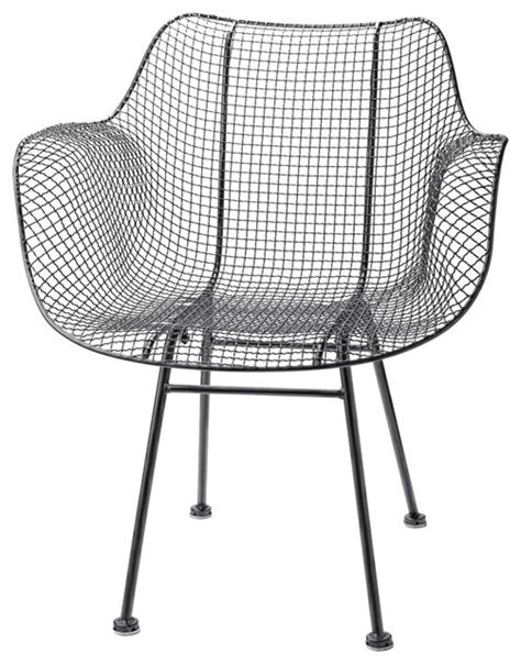 Wire Patio Chairs Wire Chair Modern Outdoor Lounge Chairs By Rejuvenation