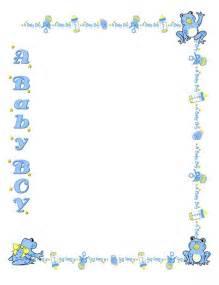 baby shower invitation border clip 53