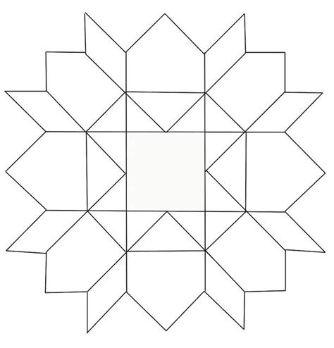 Drawing With Pattern Blocks | 189 best quilt patterns images on pinterest