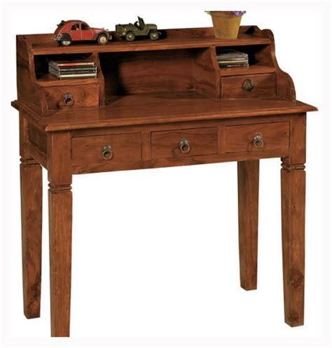 scrivanie in legno massello scrittoi india legno massello nuovimondi