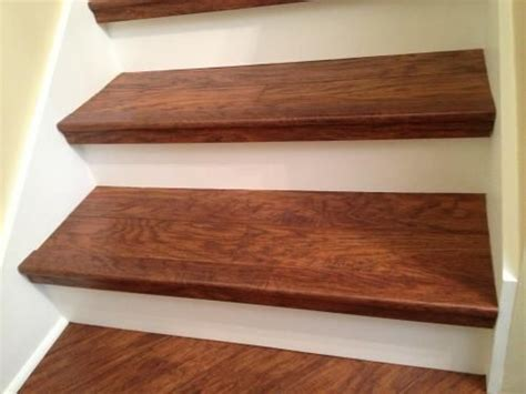 highland hickory pergo on stairs try diy stairs laminate stairs and moldings