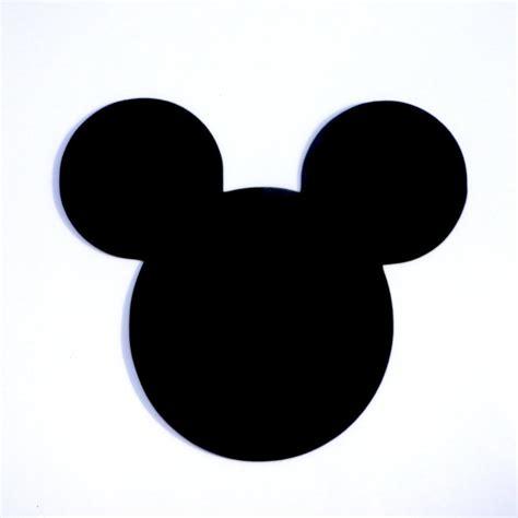 Mickey Ear 4 mickey mouse ears die cut disney s mickey
