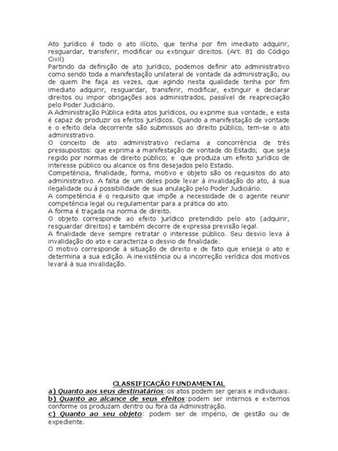 Atos e Contratos Administrativos   Lei das Obrigações
