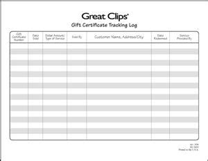 gift certificate log template 100 best images about things to do while babysitting