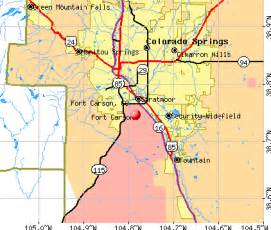 fort carson colorado map history