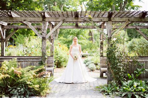 garden wedding at elm bank k m studio atticus