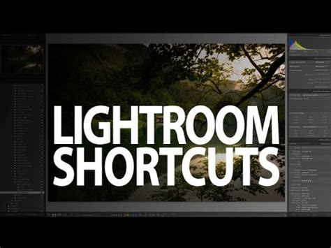 tutorial lightroom deutsch dujour tv folge 03 lightroom shortcuts lightroom