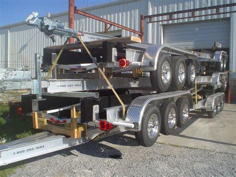 boat trailer axles virginia 22000 24000 gvwr tri axle boat trailers for sale wholesale