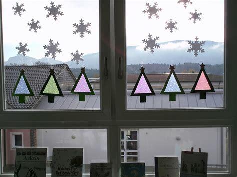 Fensterdeko Weihnachten Schule by Ideenreise Bastelidee F 252 R Eine Weihnachtliche Fensterdeko