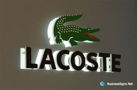 No Backlite Led Sign 3d led backlit signs with laser cutting acrylic front