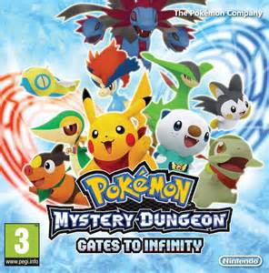 Mystery Dungeon Gates To Infinity Rating Pok 233 Mon Mystery Dungeon Gates To Infinity Review