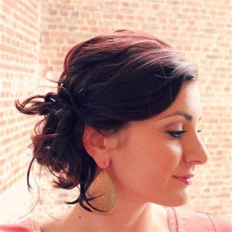 short hairstyles for fine hair updo front updo for short fine hair ideas fashion female