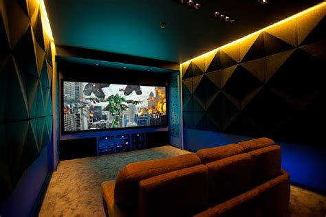 Home Theatre Room Decorating Ideas home theater offers cozy comfort in russia