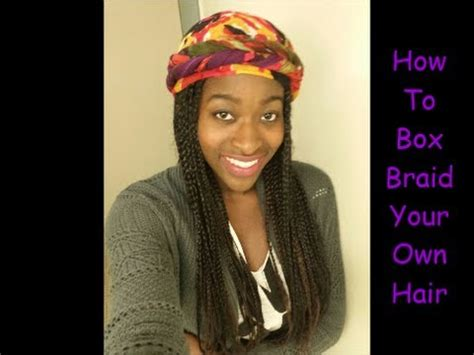 how to braid your own hair youtube how to box braid poetic justice braid your own hair