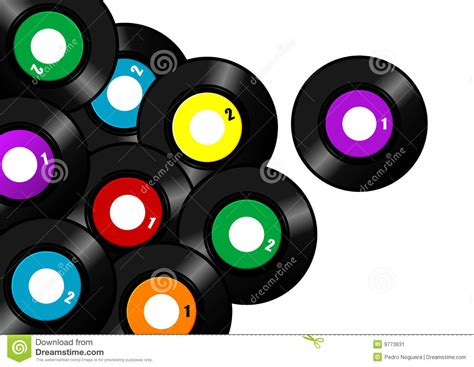 Background Records Vinyl Record Background Stock Vector Image Of Listen 9773631
