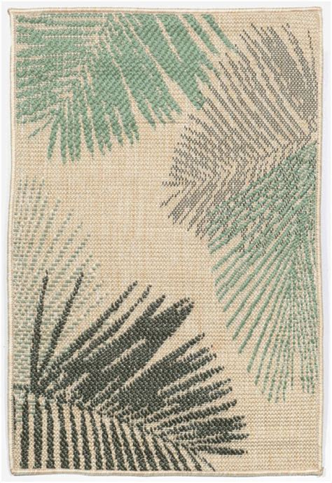 Hawaiian Print Area Rugs by Tropical Outdoor Rugs Jaipur Floral Polypropylene Green