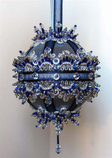beaded christmas ornament kit camelot