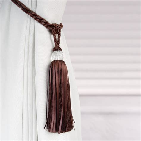 crystal curtain tie backs crystal beaded tiebacks tassel curtain tie backs tieback