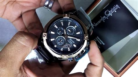 Jam Ac Cowok jam tangan cowok alexandre christie mens watches ac 6225