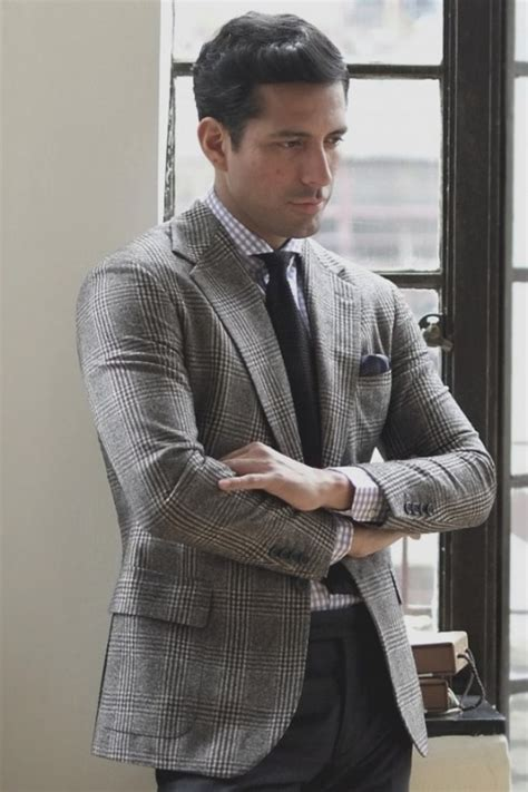Of The Blogs Silver Plaid And The Wears Prada by Style Tips For Gingham Check Dress Shirts