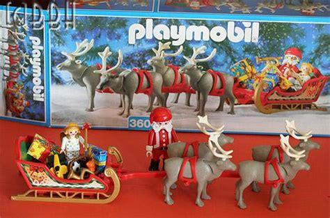 maison du pere noel playmobil playmobil 3604 traineau du p 232 re no 235 l paperblog