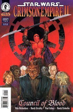 blood and tempest the empire of storms books massassi order comic books crimson empire ii council of