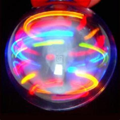 amazon com 7 5 quot led light up sphere led lights spin to