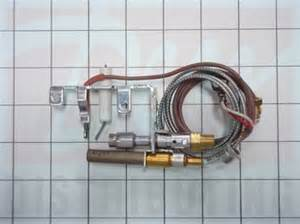 replace thermocouple gas fireplace r3624 empire fireplace gas pilot with thermopile
