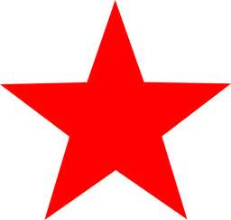 clipart red star