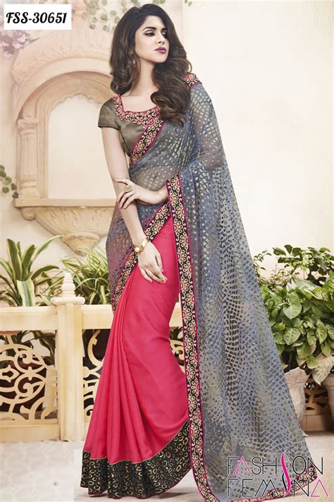 design dress from saree latest indian designer heavy sarees online shopping for
