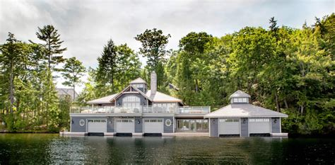 1 Level House Plans classic new boathouses in muskoka ontario by tamarack